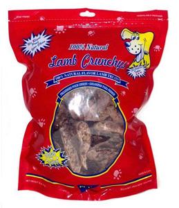 Lamb Crunchy's dog treats recall